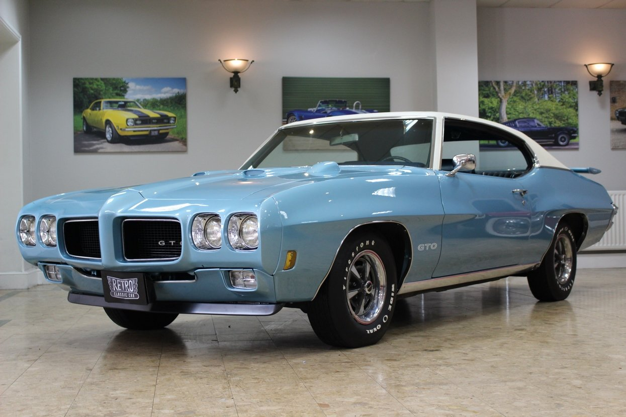 1970 Pontiac GTO 6.6 400 V8 Auto | Numbers Matching GTO For Sale (picture 1 of 10)