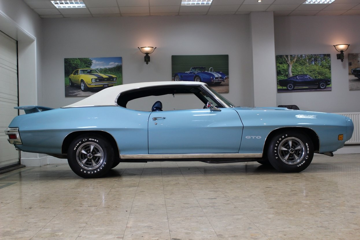 1970 Pontiac GTO 6.6 400 V8 Auto | Numbers Matching GTO For Sale (picture 2 of 10)