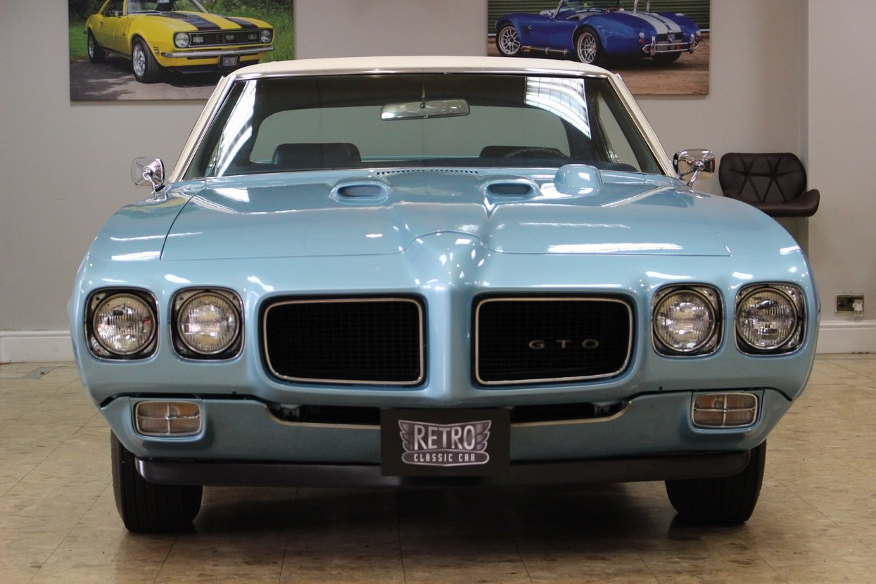 1970 Pontiac GTO 6.6 400 V8 Auto | Numbers Matching GTO For Sale (picture 3 of 10)