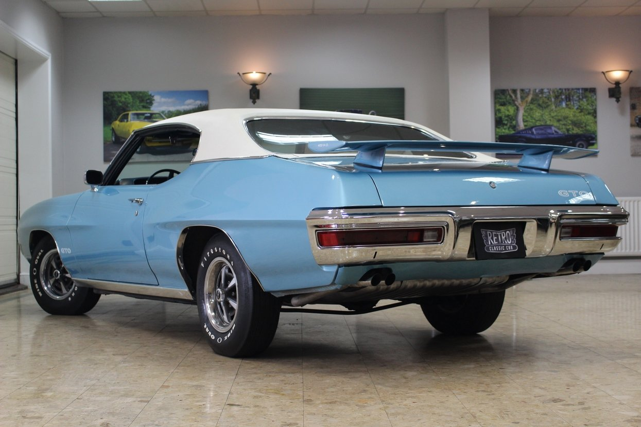 1970 Pontiac GTO 6.6 400 V8 Auto | Numbers Matching GTO For Sale (picture 4 of 10)