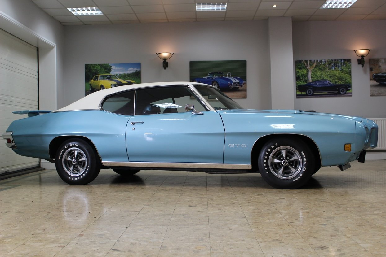 1970 Pontiac GTO 6.6 400 V8 Auto | Numbers Matching GTO For Sale (picture 7 of 10)