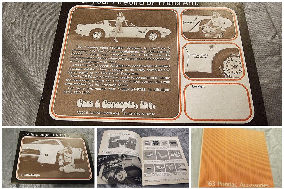 0000 PONTIAC TEMPEST TRANSAM LE MANS BROCHURES, CATALOGUES ETC For Sale (picture 3 of 6)