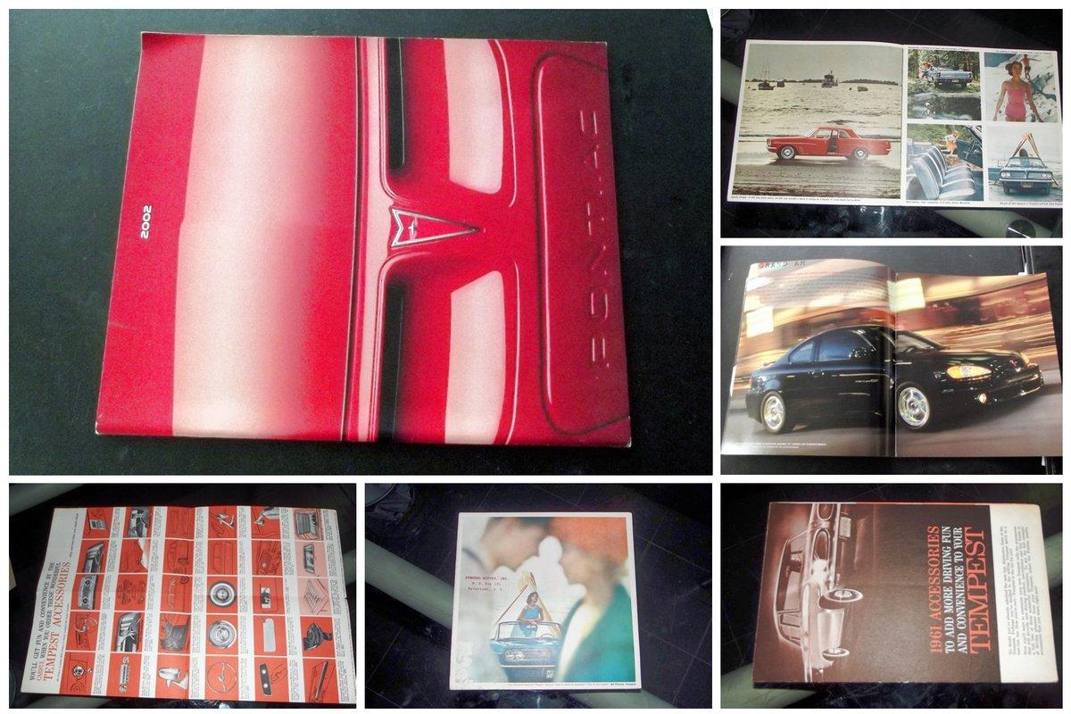 0000 PONTIAC TEMPEST TRANSAM LE MANS BROCHURES, CATALOGUES ETC For Sale (picture 6 of 6)