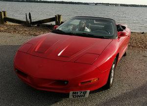 1995 Pontiac Firebird Formula convertible