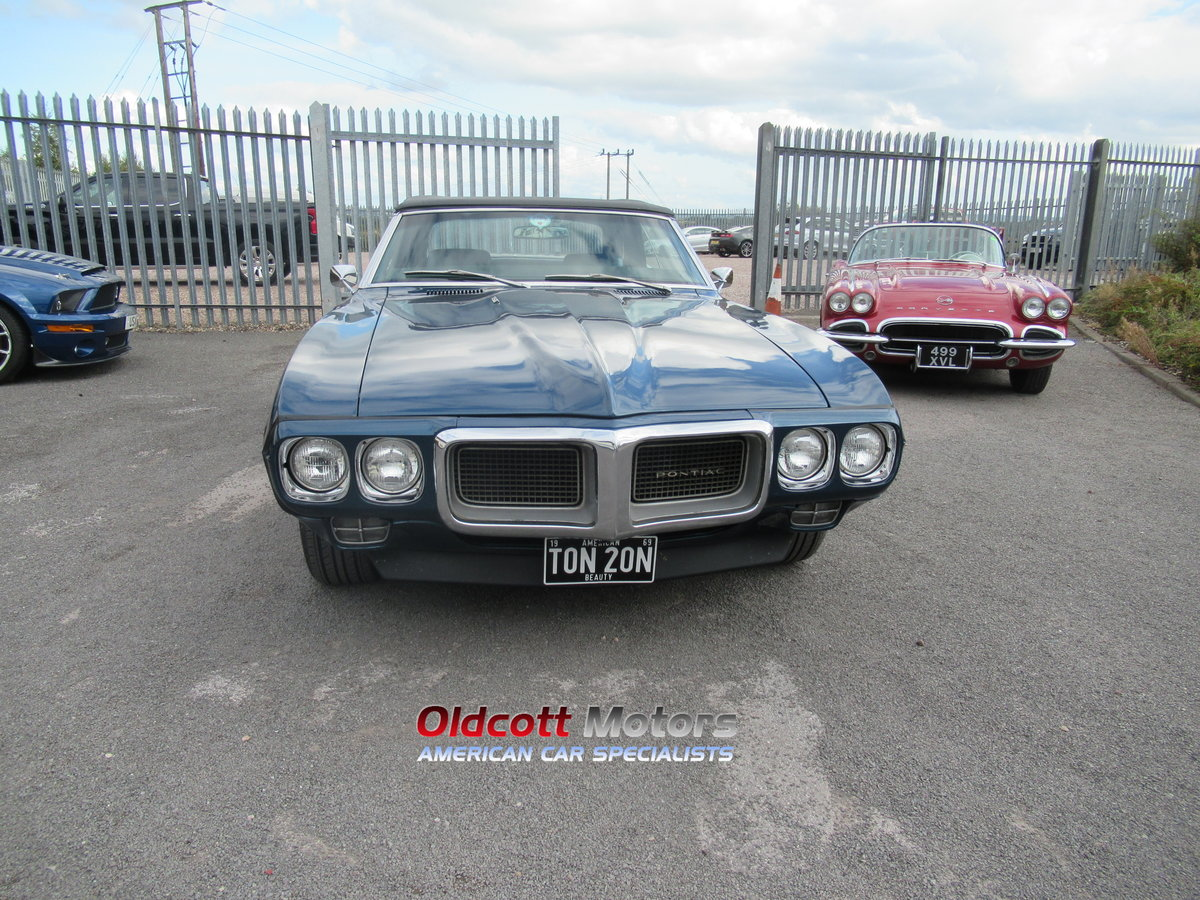 1967 PONTIAC FIREBIRD CONVERTIBLE 350 4 SPEED MANUAL For Sale (picture 2 of 6)
