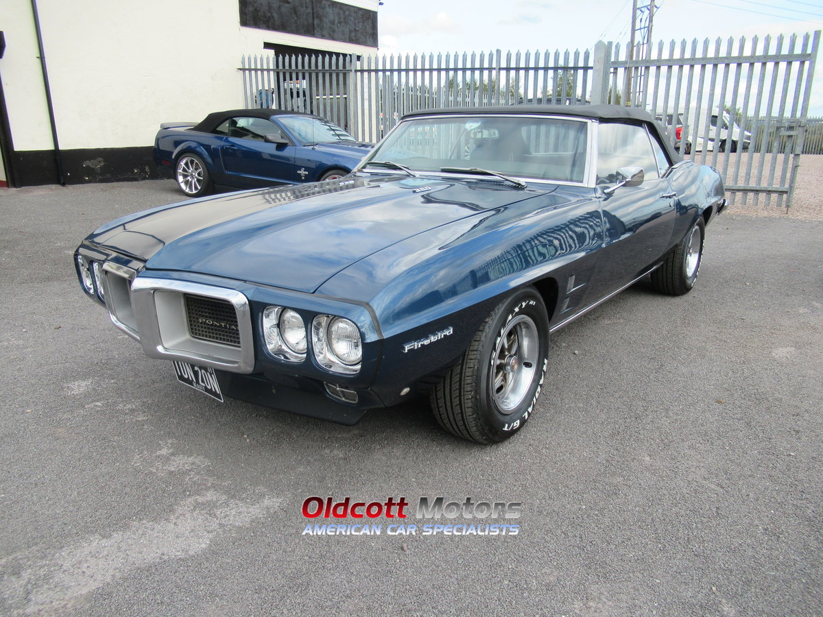 1967 PONTIAC FIREBIRD CONVERTIBLE 350 4 SPEED MANUAL For Sale (picture 3 of 6)