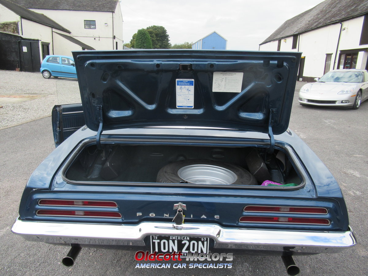 1967 PONTIAC FIREBIRD CONVERTIBLE 350 4 SPEED MANUAL For Sale (picture 5 of 6)