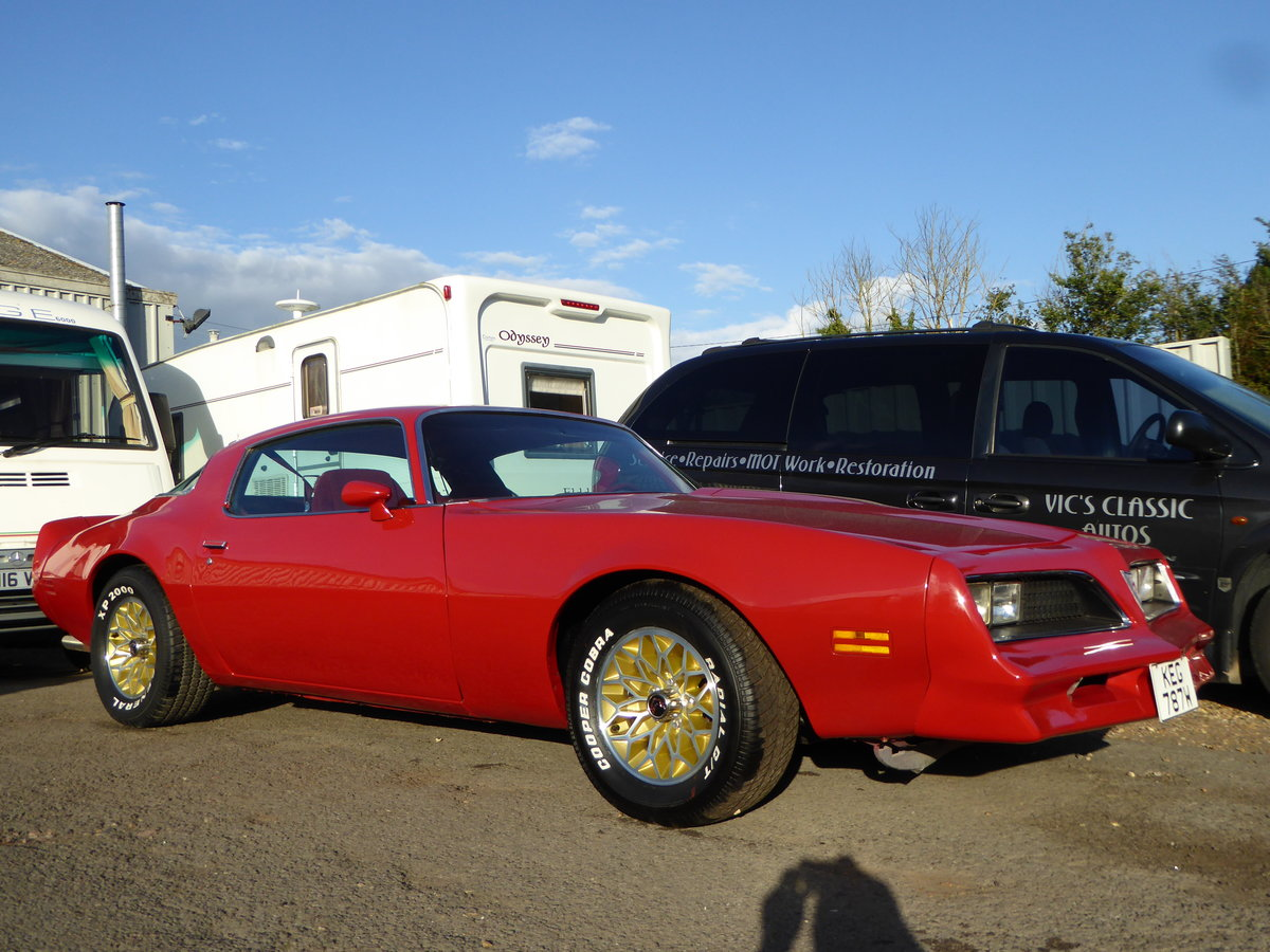 1979 Pontiac firebird 6.6 litre For Sale (picture 1 of 6)