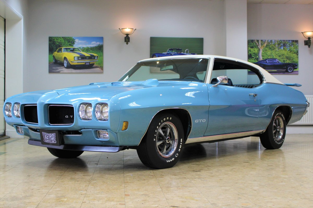 1970 Pontiac GTO 400 V8 Auto-Numbers Matching   Exceptional SOLD (picture 1 of 25)