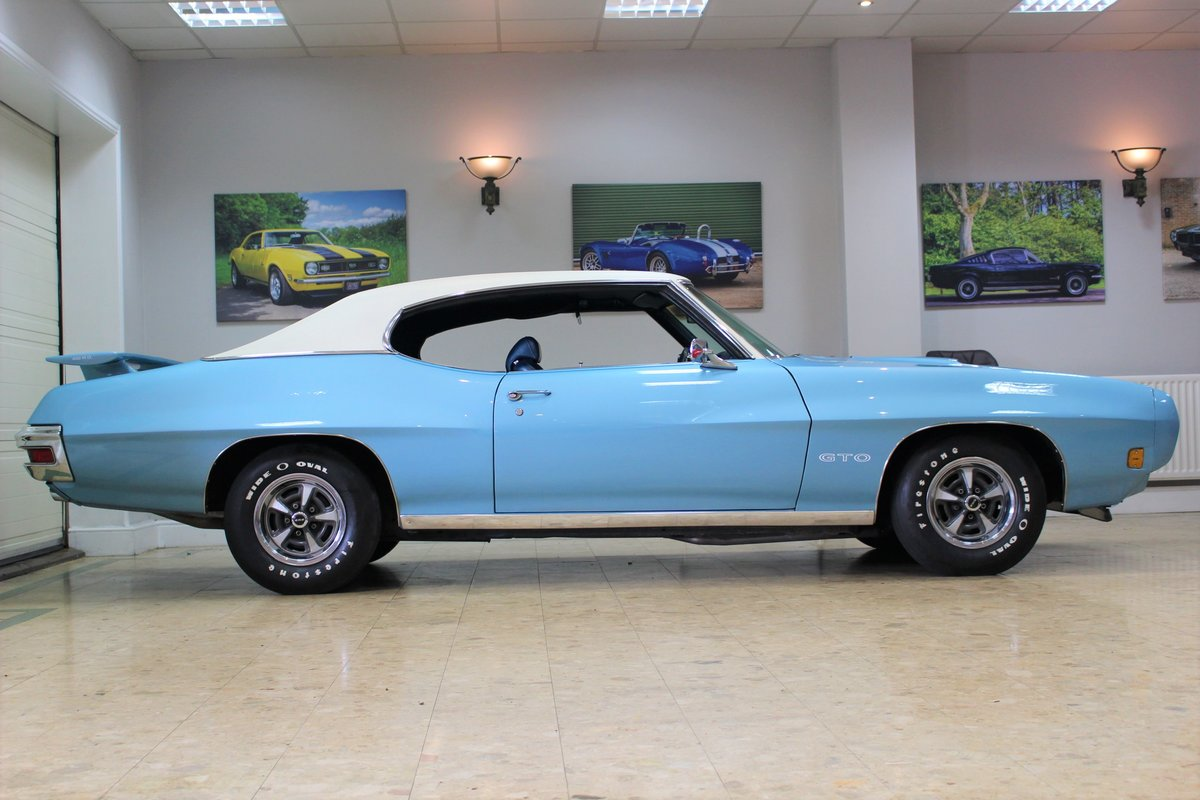 1970 Pontiac GTO 400 V8 Auto-Numbers Matching   Exceptional SOLD (picture 2 of 25)