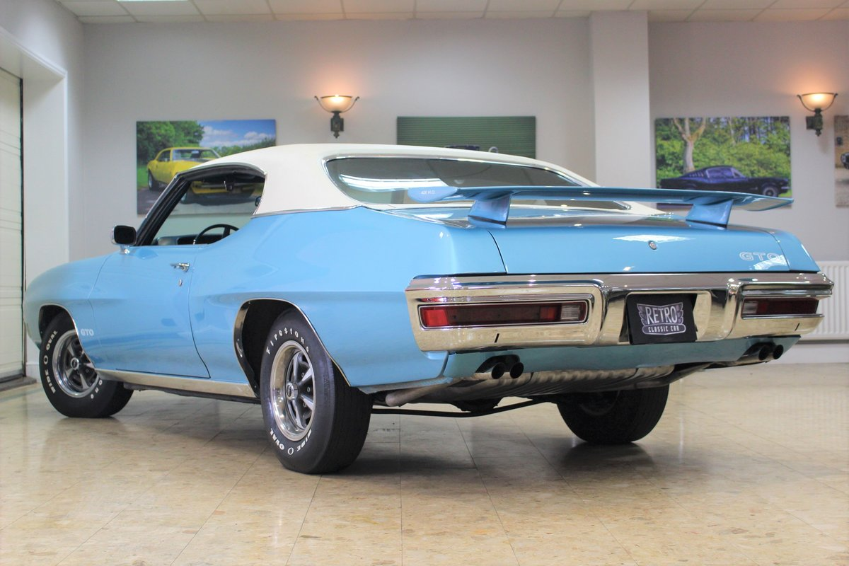 1970 Pontiac GTO 400 V8 Auto-Numbers Matching   Exceptional SOLD (picture 4 of 25)