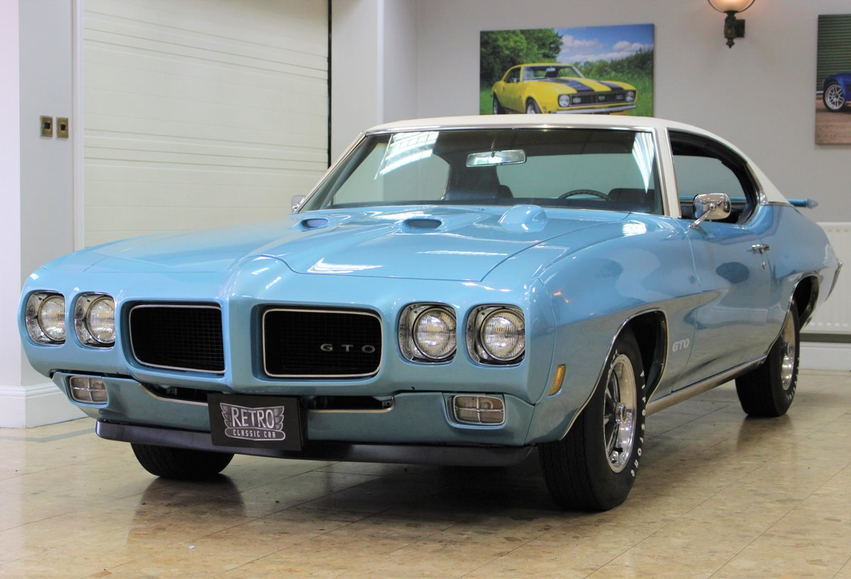 1970 Pontiac GTO 400 V8 Auto-Numbers Matching   Exceptional SOLD (picture 3 of 25)