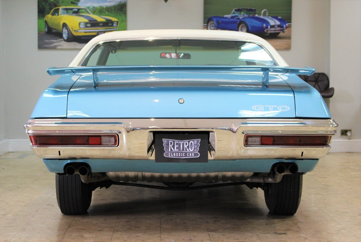 1970 Pontiac GTO 400 V8 Auto-Numbers Matching   Exceptional SOLD (picture 5 of 25)