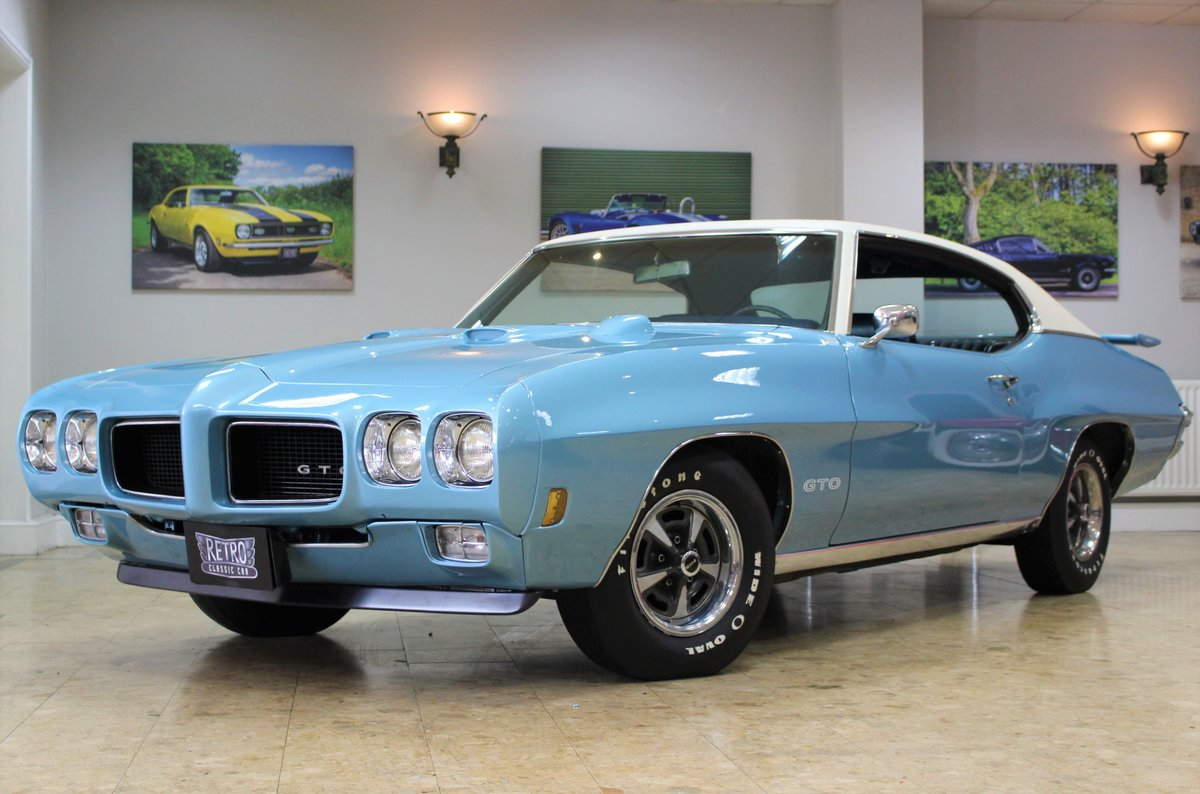 1970 Pontiac GTO 400 V8 Auto-Numbers Matching   Exceptional SOLD (picture 17 of 25)