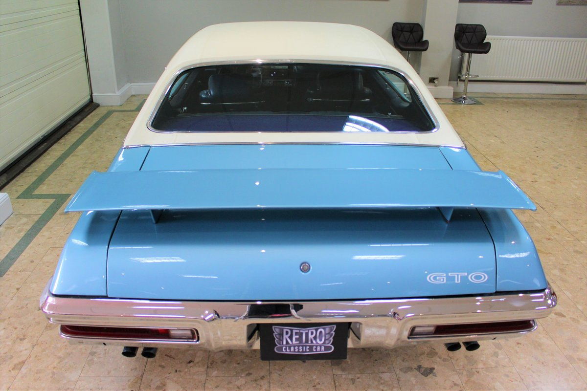 1970 Pontiac GTO 400 V8 Auto-Numbers Matching   Exceptional SOLD (picture 23 of 25)