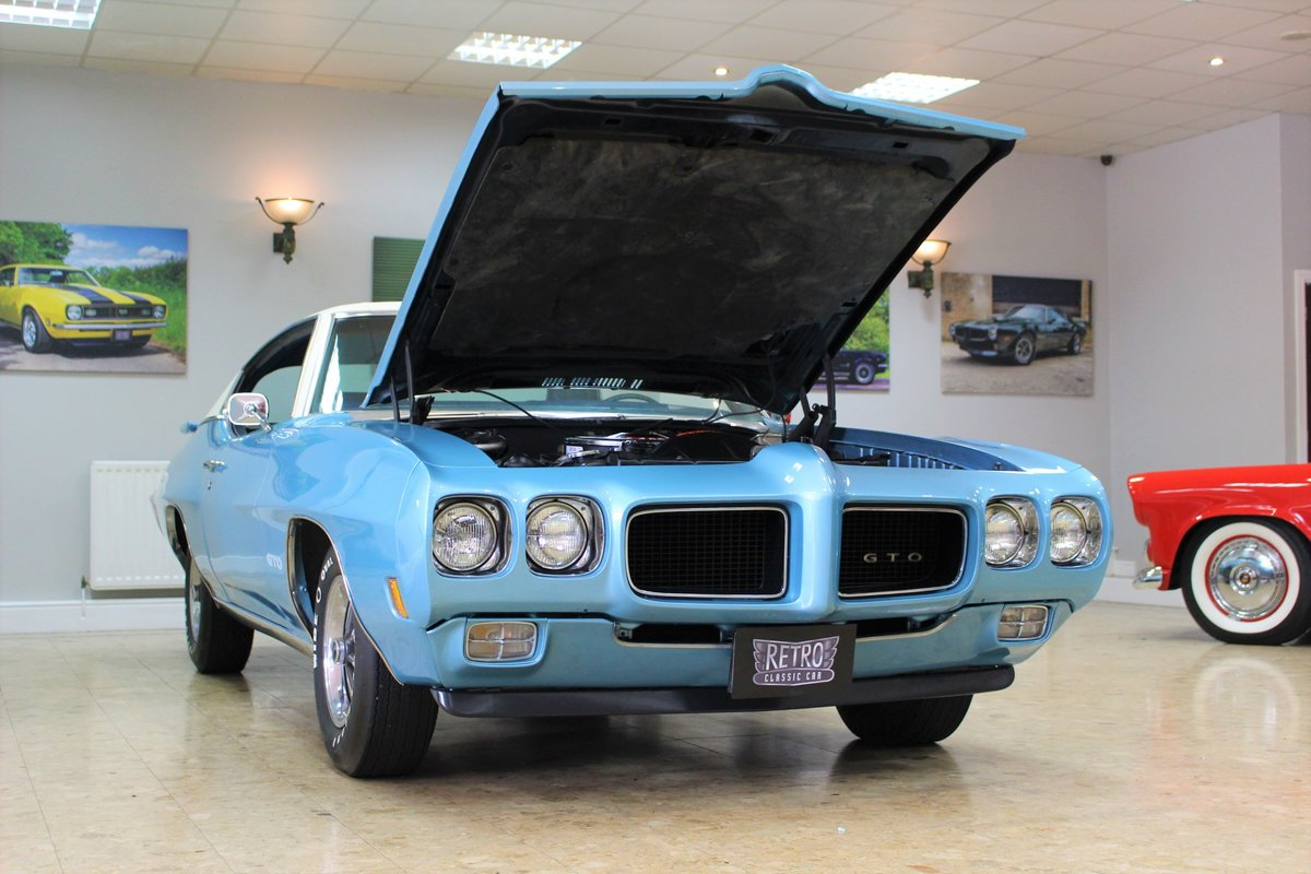 1970 Pontiac GTO 400 V8 Auto-Numbers Matching   Exceptional SOLD (picture 24 of 25)