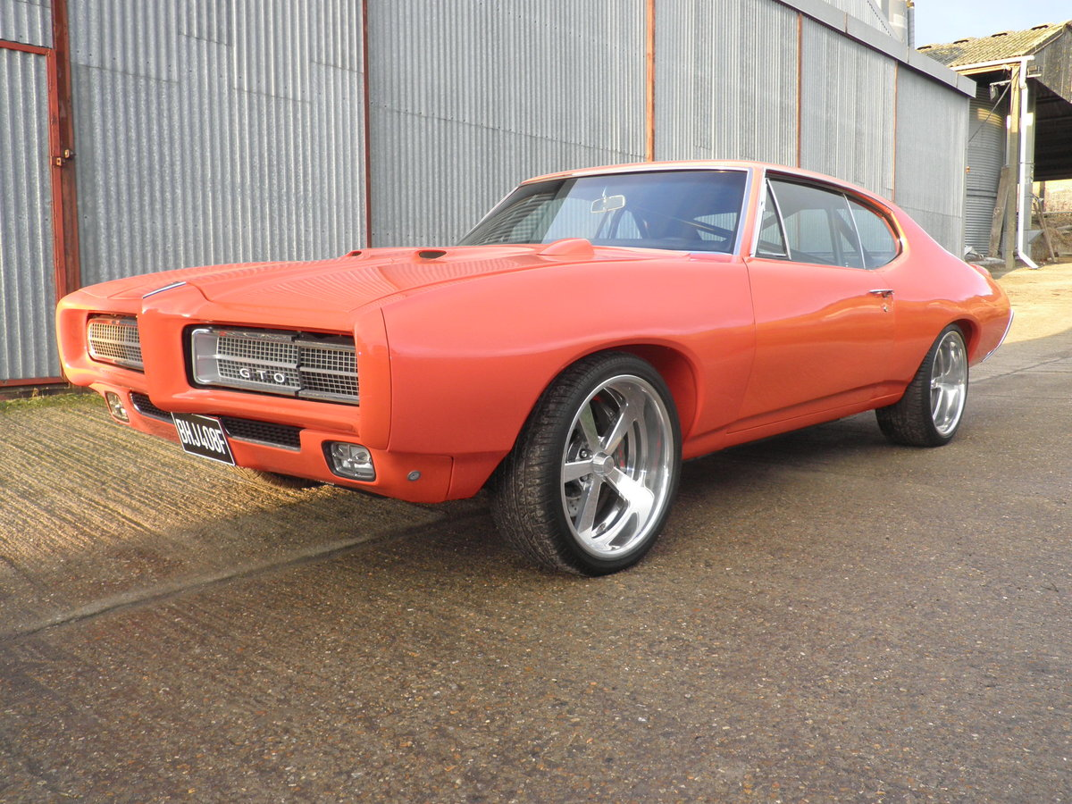 1968 Pontiac GTO Coupe, with 550HP, Manual gearbox For Sale (picture 10 of 12)