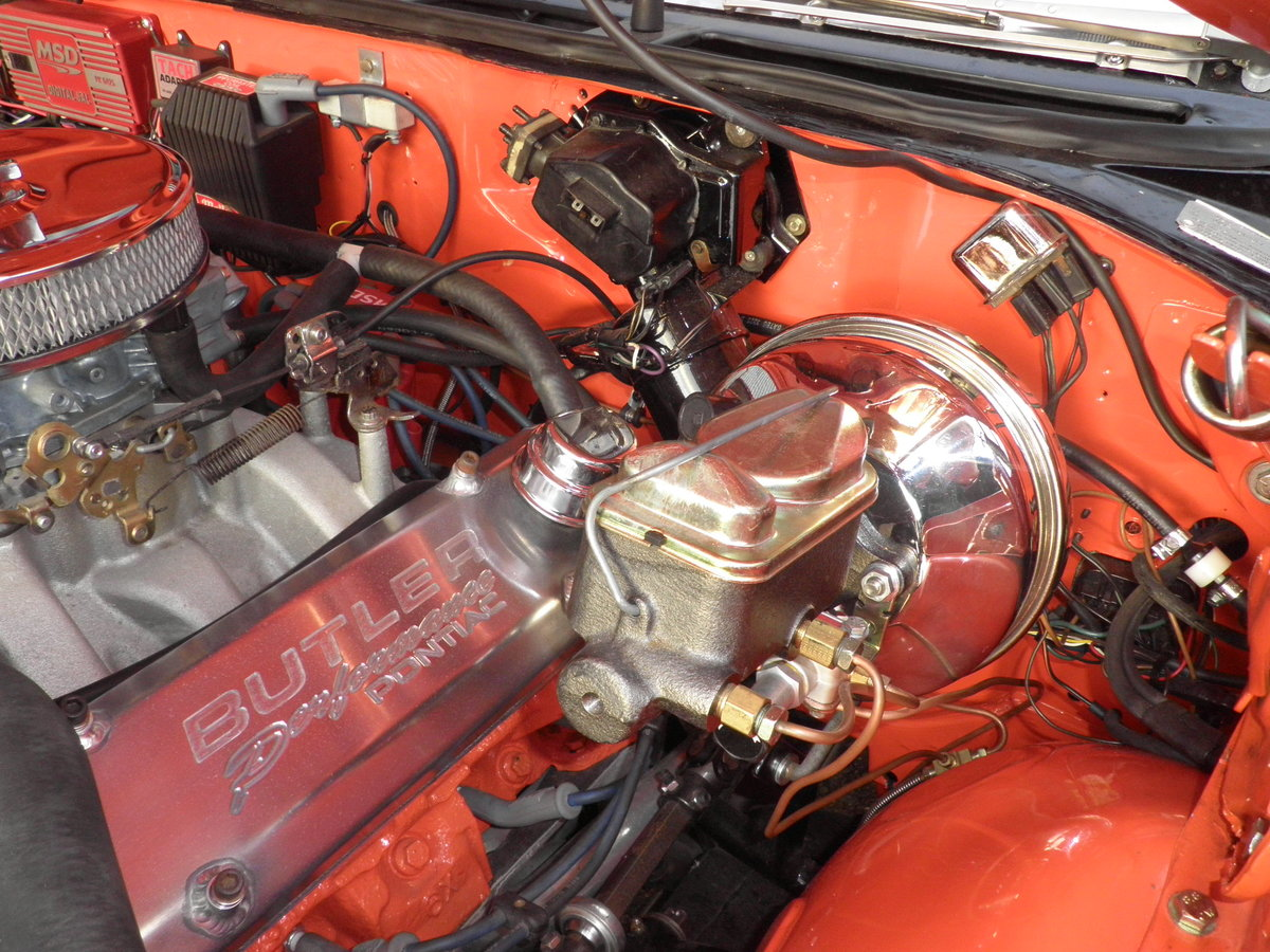 1968 Pontiac GTO Coupe, with 550HP, Manual gearbox For Sale (picture 11 of 12)