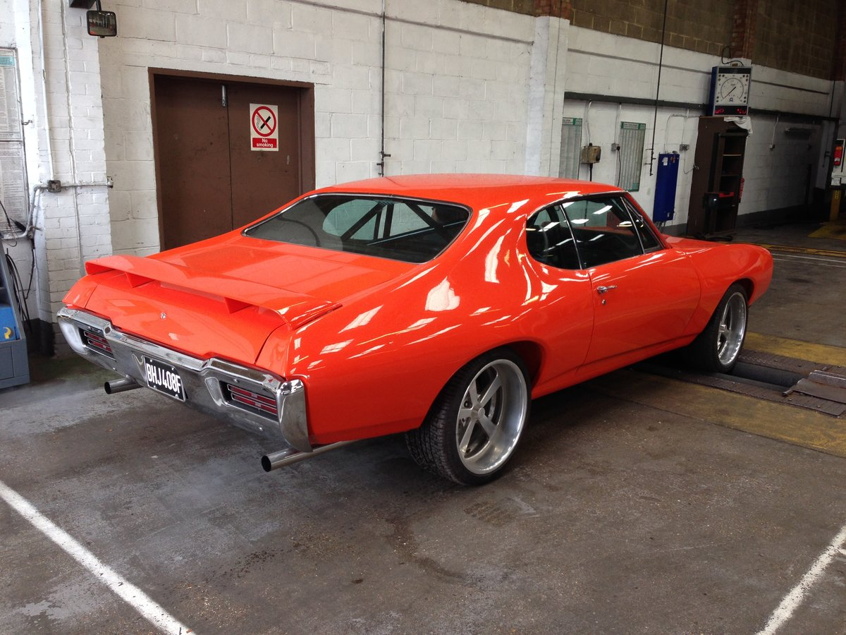 1968 Pontiac GTO Coupe, with 550HP, Manual gearbox For Sale (picture 12 of 12)