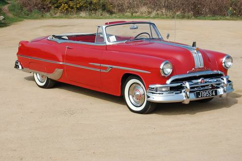 1953 Pontiac Star Chief 8 cylinder convertible For Sale (picture 1 of 6)