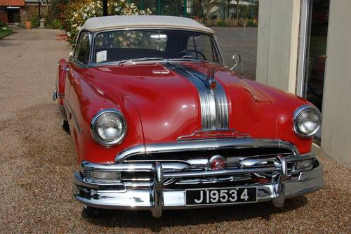 1953 Pontiac Star Chief 8 cylinder convertible For Sale (picture 6 of 6)