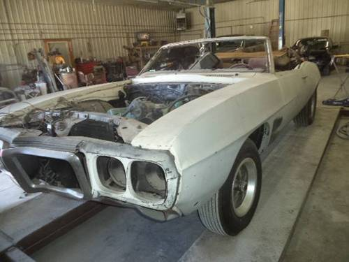 1969 Pontiac Firebird 400 Convertible For Sale (picture 1 of 6)