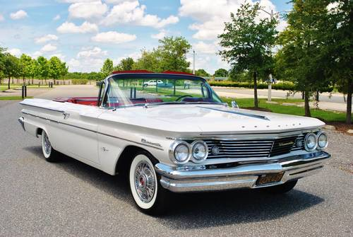 1960 Pontiac Bonneville Convertible Fully Restored Wow! For Sale (picture 1 of 6)
