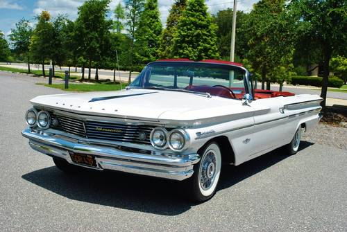 1960 Pontiac Bonneville Convertible Fully Restored Wow! For Sale (picture 2 of 6)