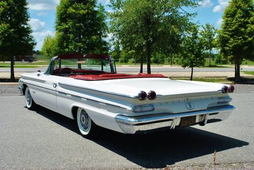 1960 Pontiac Bonneville Convertible Fully Restored Wow! For Sale (picture 3 of 6)