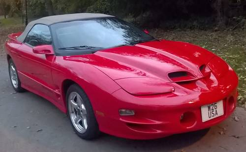 2001 Awesome Rare WS6 Trans Am Firebird Convertible For Sale (picture 5 of 6)