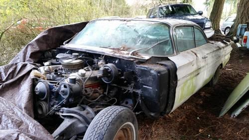 1960 Bonneville 2Dr Bubbletop Hardtop Solid Car Reblt 389 Eng For Sale (picture 1 of 6)