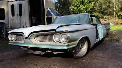 1959 Pontiac Bonneville 2 door sport coupe Custom Project For Sale (picture 1 of 6)