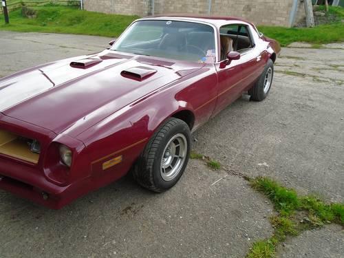 1975 Very rare 455 Pontiac Firebird Transam. For Sale (picture 1 of 6)