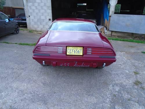 1975 Very rare 455 Pontiac Firebird Transam. For Sale (picture 4 of 6)