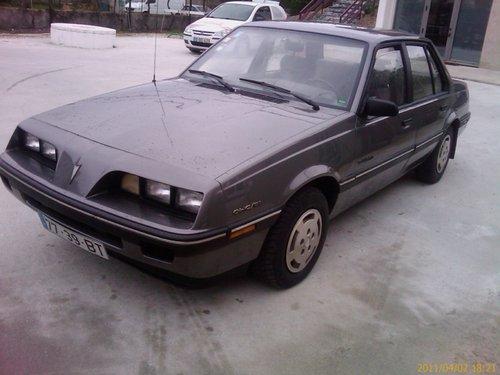 1991 PONTIAC SUNBIRD 2.0 automatik For Sale (picture 1 of 6)