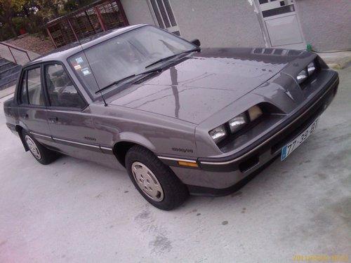 1991 PONTIAC SUNBIRD 2.0 automatik For Sale (picture 2 of 6)