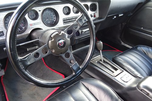 1978 PONTIAC FIREBIRD TRANS AM 400. 300HP ENGINE EXCELENT EXAMPLE For Sale (picture 5 of 6)
