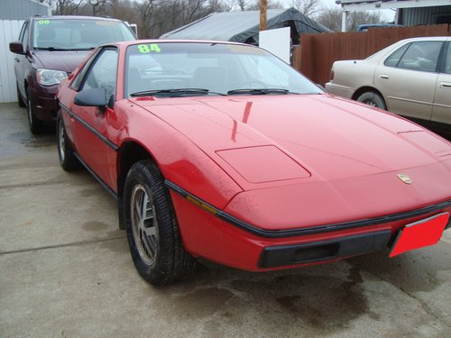 1984 Pontiac Fiero SE 2DR For Sale (picture 2 of 6)