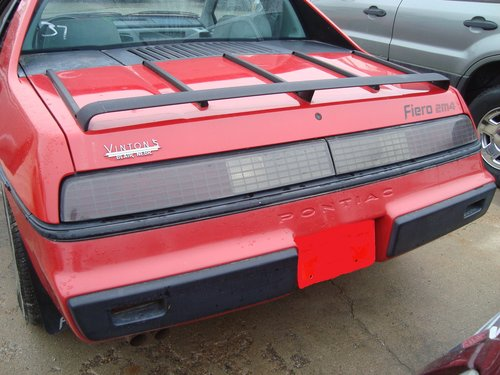 1984 Pontiac Fiero SE 2DR For Sale (picture 4 of 6)