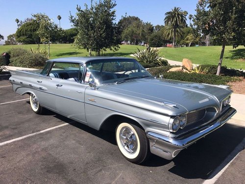 Pontiac Bonneville Hardtop Try Power 1959 &50 USA Classics For Sale (picture 1 of 6)