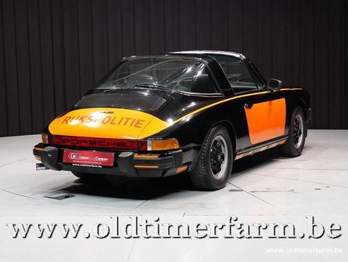 1975 Porsche 911 Targa Rijkspolitie