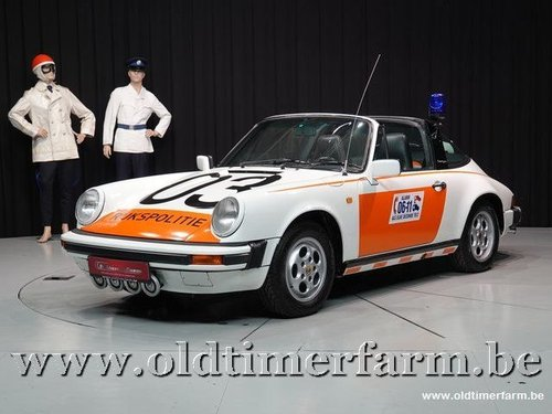 1987 Porsche 911 3.2 Targa G50 Rijkspolitie  For Sale (picture 1 of 6)