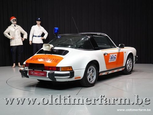 1987 Porsche 911 3.2 Targa G50 Rijkspolitie  For Sale (picture 2 of 6)