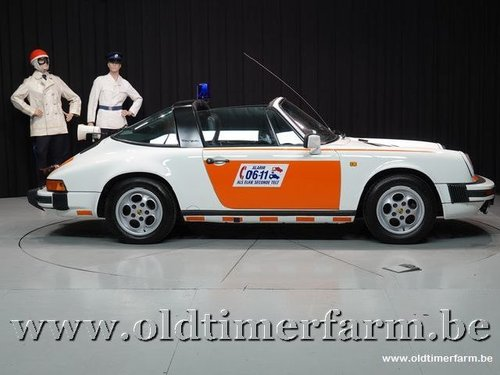 1987 Porsche 911 3.2 Targa G50 Rijkspolitie  For Sale (picture 3 of 6)