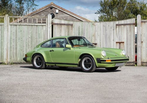1978 Porsche 911 SC Coupe, rare factory specification SOLD (picture 1 of 6)