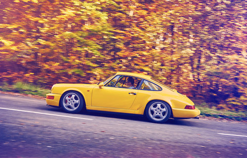 1992 Porsche 964 Rs Ngt M003 Ferrari Yellow For Sale