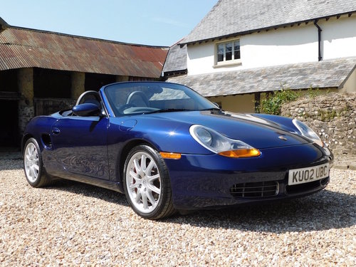 2002 Porsche Boxster 3.2 S - 51k, immaculate For Sale (picture 1 of 6)