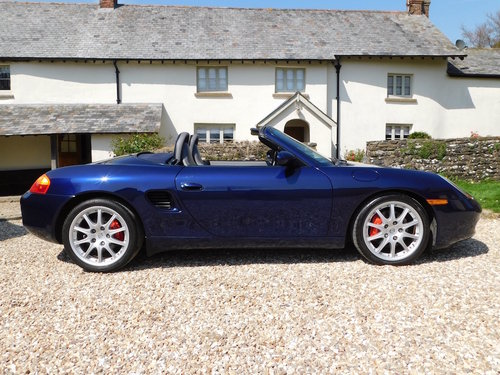 2002 Porsche Boxster 3.2 S - 51k, immaculate For Sale (picture 2 of 6)