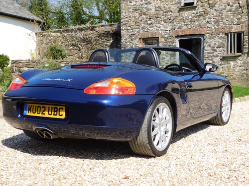 2002 Porsche Boxster 3.2 S - 51k, immaculate For Sale (picture 3 of 6)