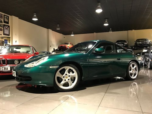 2000 PORSCHE 911 CARRERA 4 TIPTRONIC S RAINFOREST GREEN For Sale (picture 1 of 6)